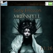 Moonspell sony ericsson theme
