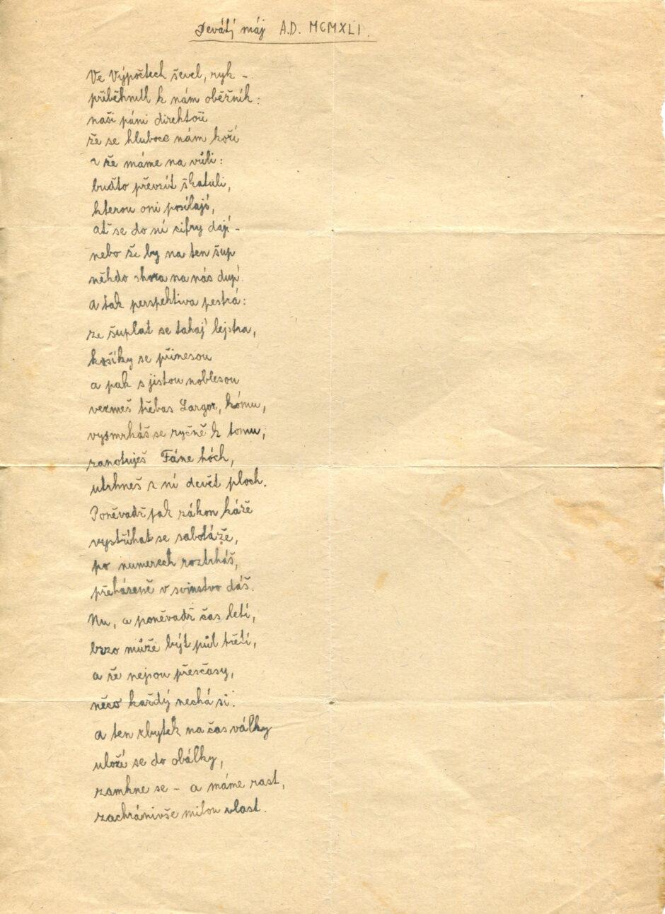 Lubomír Tejček - Devátý máj