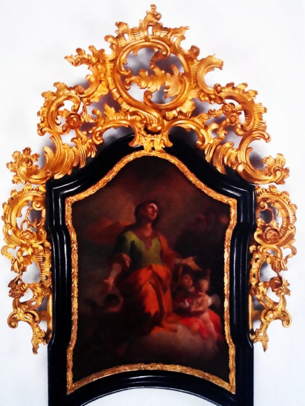 Fotografie rámu z katalogu Olomoucké baroko